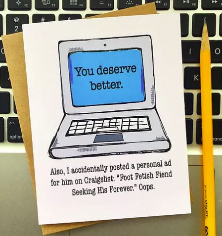 You Deserve Better - Greeting Card