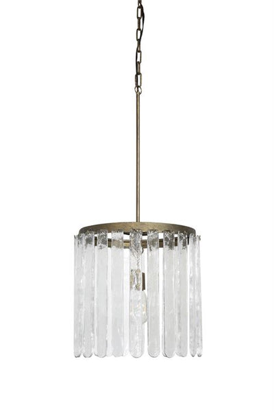 Chateau Metal & Glass Pendant Lamp