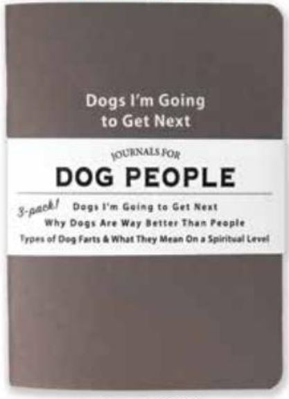 Journals for Dog People - Set of 3
