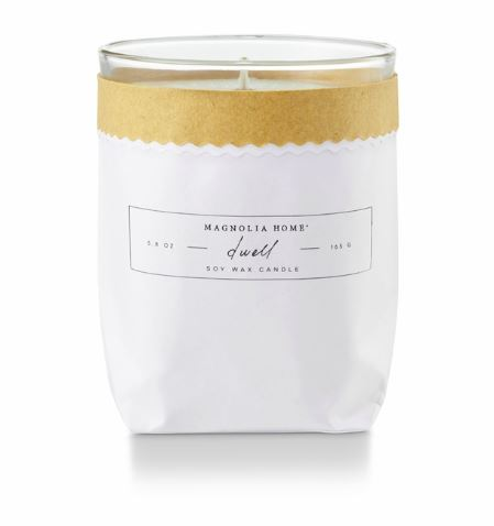 Magnolia Home by Joanna Gaines - Dwell - Kraft Textured Bagged Candle