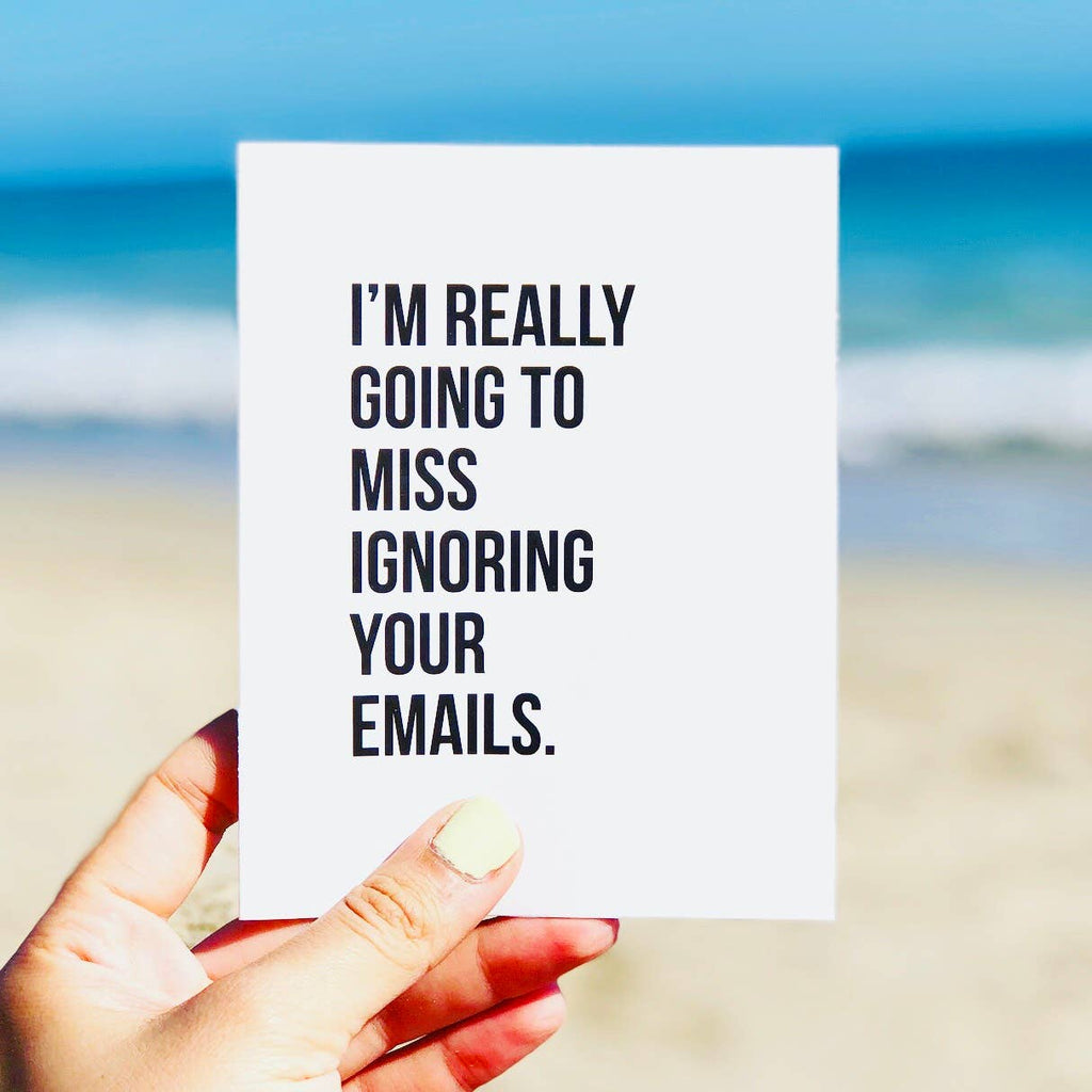 Emails - Funny Office Card