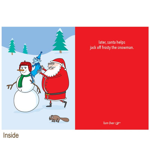 The Adventures of Santa Claus and Jack Frost - Holiday Christmas Card
