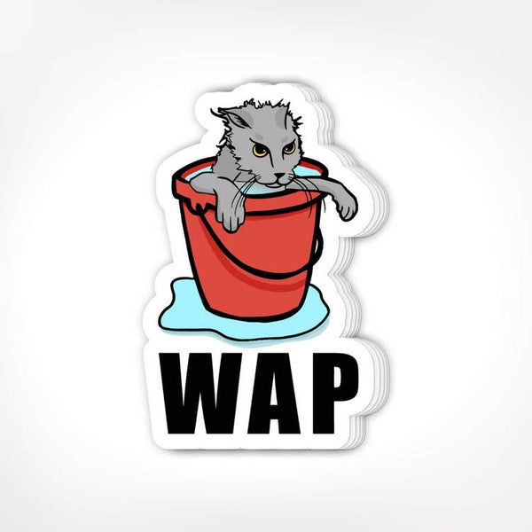 WAP - Vinyl Decal Sticker