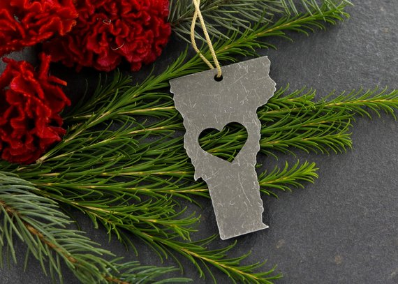 Iron Maid Art - Vermont Metal Ornament
