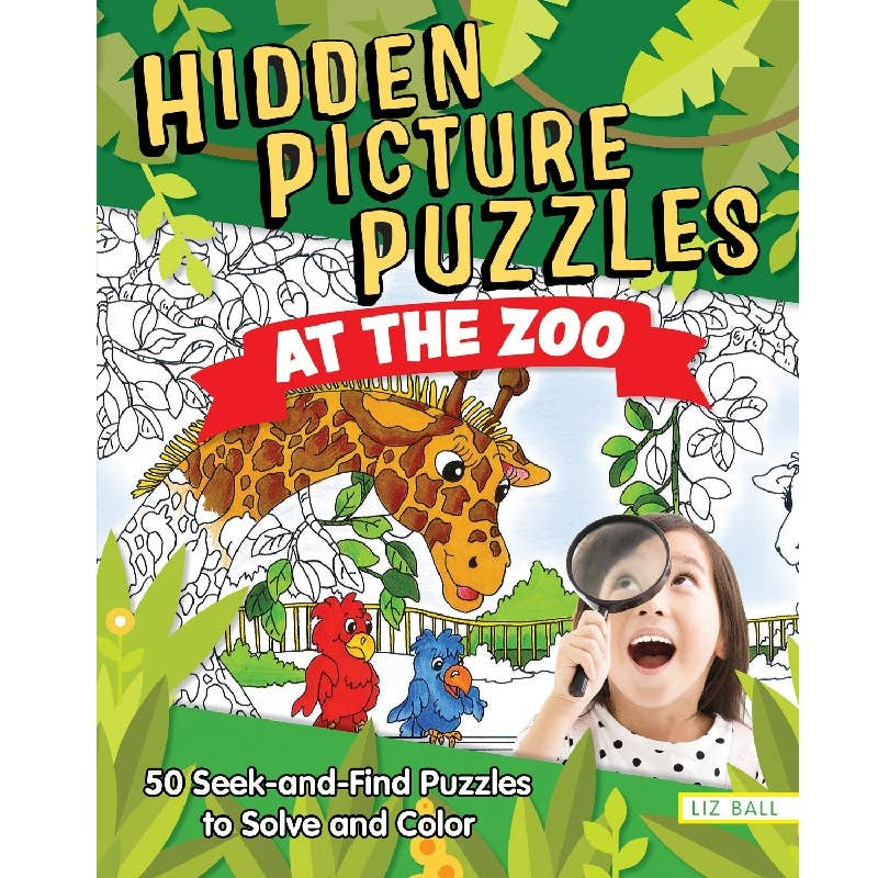 Hidden Pictures at the Zoo Book