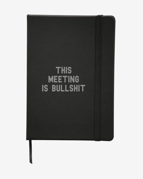 This Meeting Is Bullshit - Notebook