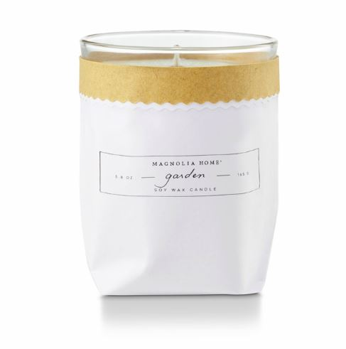 Magnolia Home by Joanna Gaines - Garden - Kraft Textured Bagged Candle - ATTIC Collection - FINAL SALE - No Returns or Exchanges