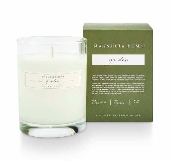Magnolia Home by Joanna Gaines - Garden - Boxed Glass Candle