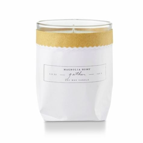 Magnolia Home by Joanna Gaines - Gather - Kraft Textured Bagged Candle - ATTIC Collection - FINAL SALE - No Returns or Exchanges