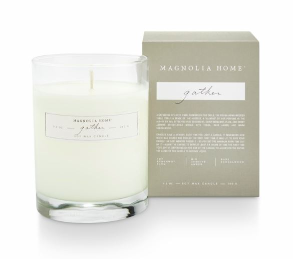 Magnolia Home by Joanna Gaines - Gather - Boxed Glass Candle
