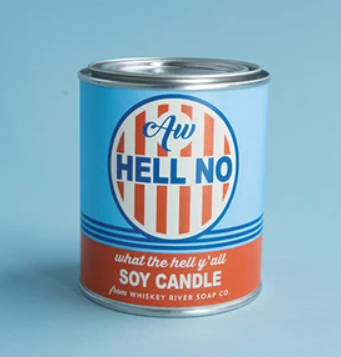 Aw Hell No - Paint Can Candle