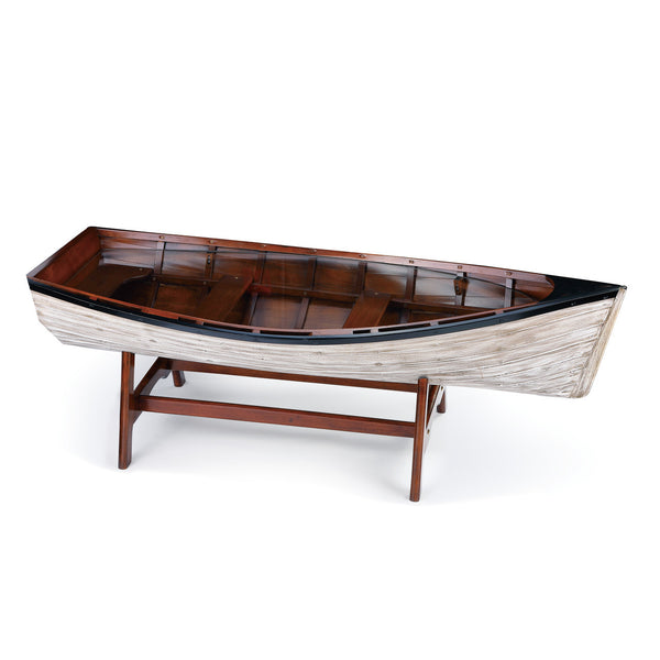 Drift Boat Coffee Table - 56-3/4-in