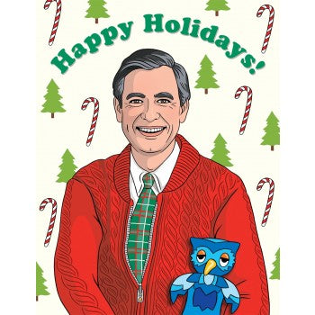 Happy Holidays - Mr. Rogers - Holiday Greeting Card