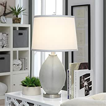 Element Glass Table Lamp 26-in