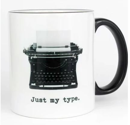 Just My Type Coffee Mug 11-oz