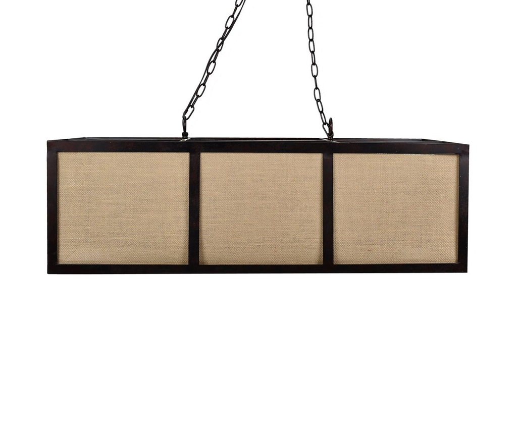 Nathan Rectangular Box Pendant Lamp - 39-1/2-in
