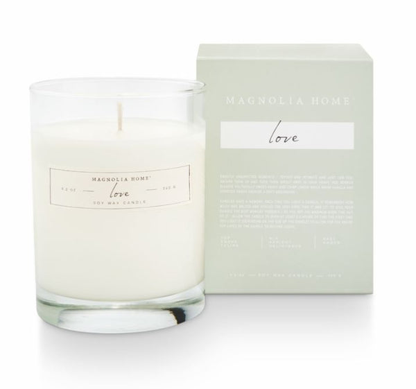 Magnolia Home by Joanna Gaines - Love - Boxed Glass Candle