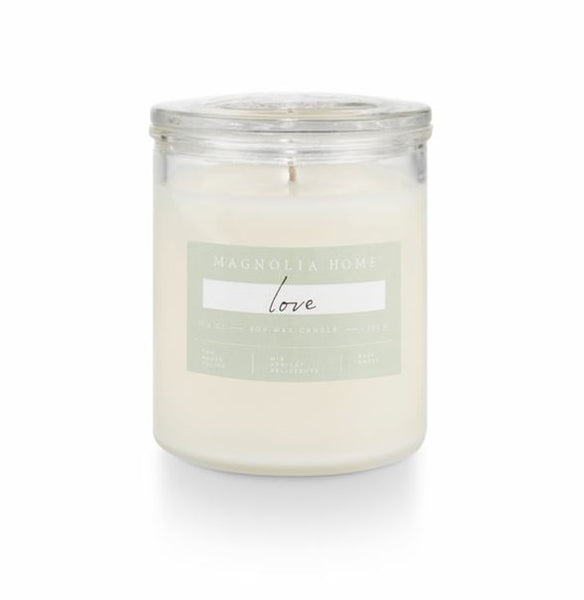 Magnolia Home by Joanna Gaines - Love - Glass Jar Candle
