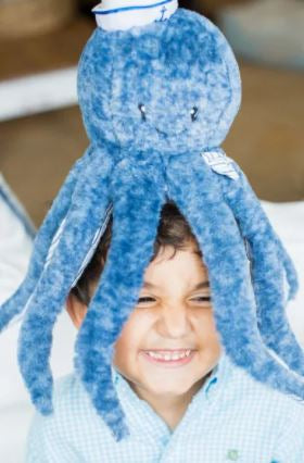 Oswald The Octopus - Plush Sea Life - 12-in