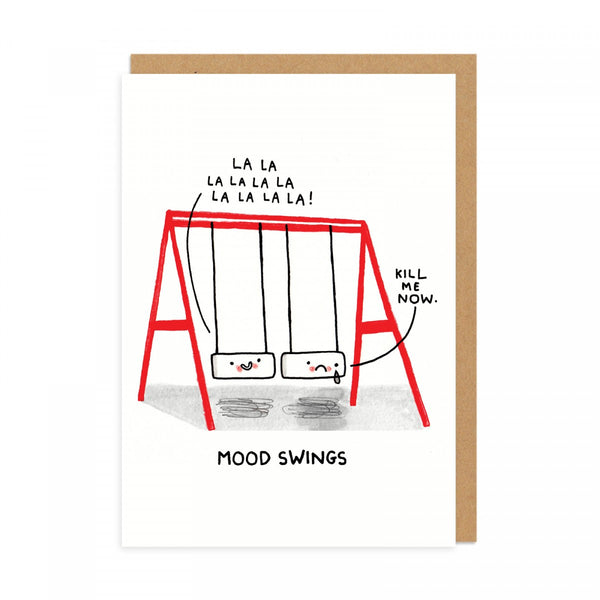 Mood Swings - Greeting Card