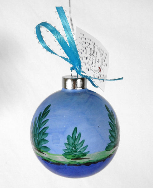 SHARD Pottery of Maine - Hand Painted Ceramic Ornament by J. Victoria Rattigan Designs (Moose) - Mellow Monkey  - 2