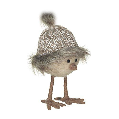 All Dressed Up Nordic Bird with Knit Hat - Mellow Monkey