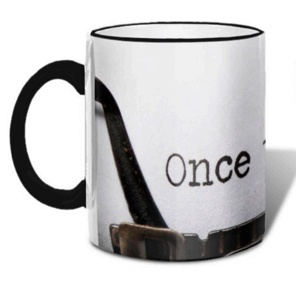 Once Upon A Time - Ceramic Coffee Tea Mug 11-oz - Mellow Monkey  - 2