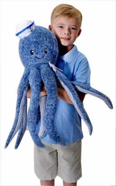 JUMBO Oswald The Octopus - Plush Sea Life - 24-in
