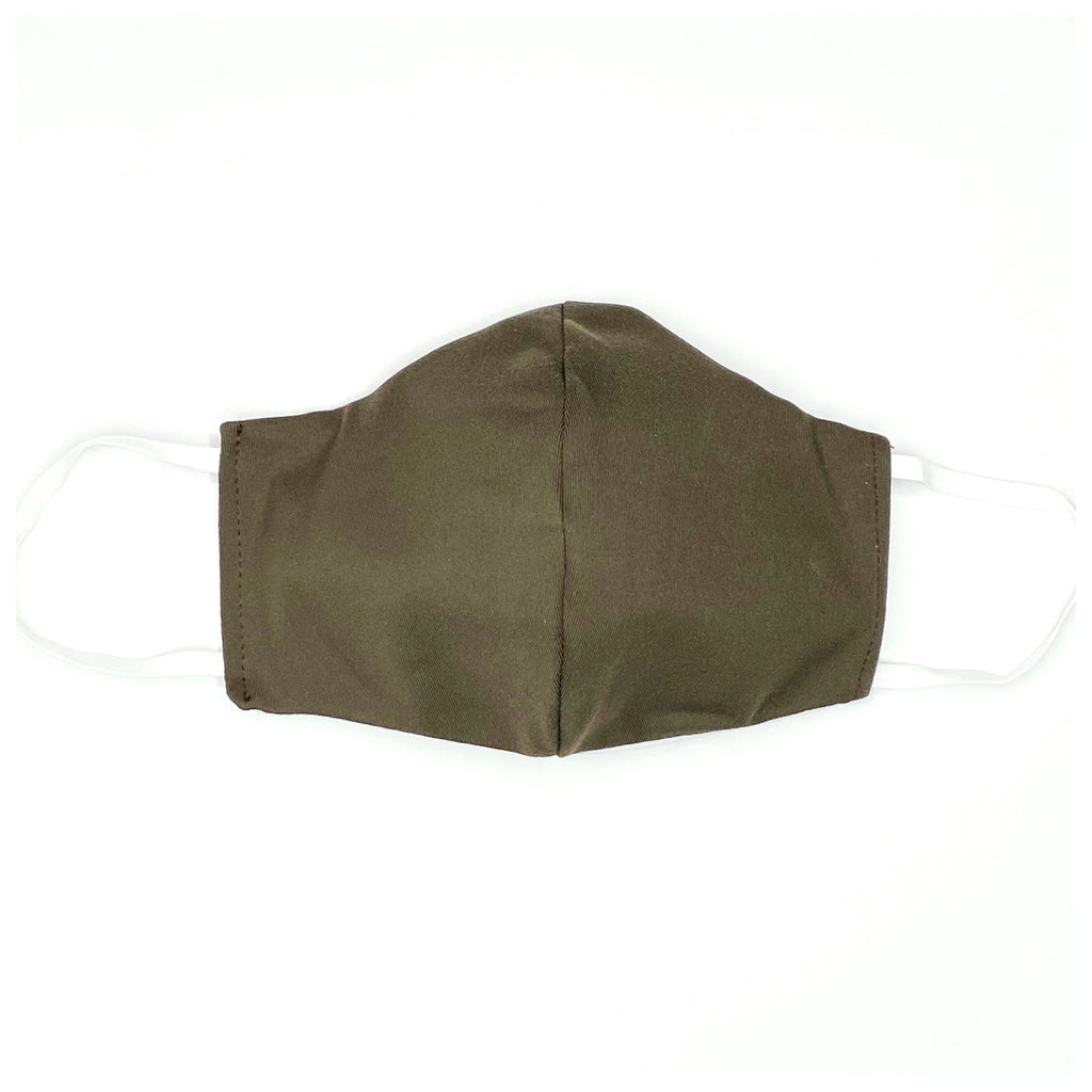 Facemasks LA - Face Mask with Filter - Army Green