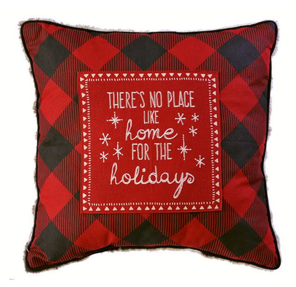 December to Remember Winter Lodge Holiday Pillow Set - Mellow Monkey  - 2