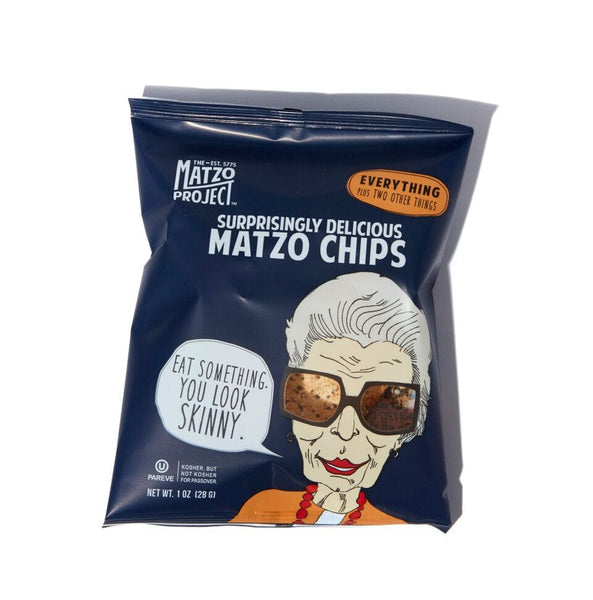 Surprisingly Delicious Matzo Chips - Everything - 1-oz (Cyber Monday  Sale Price: $0.49)