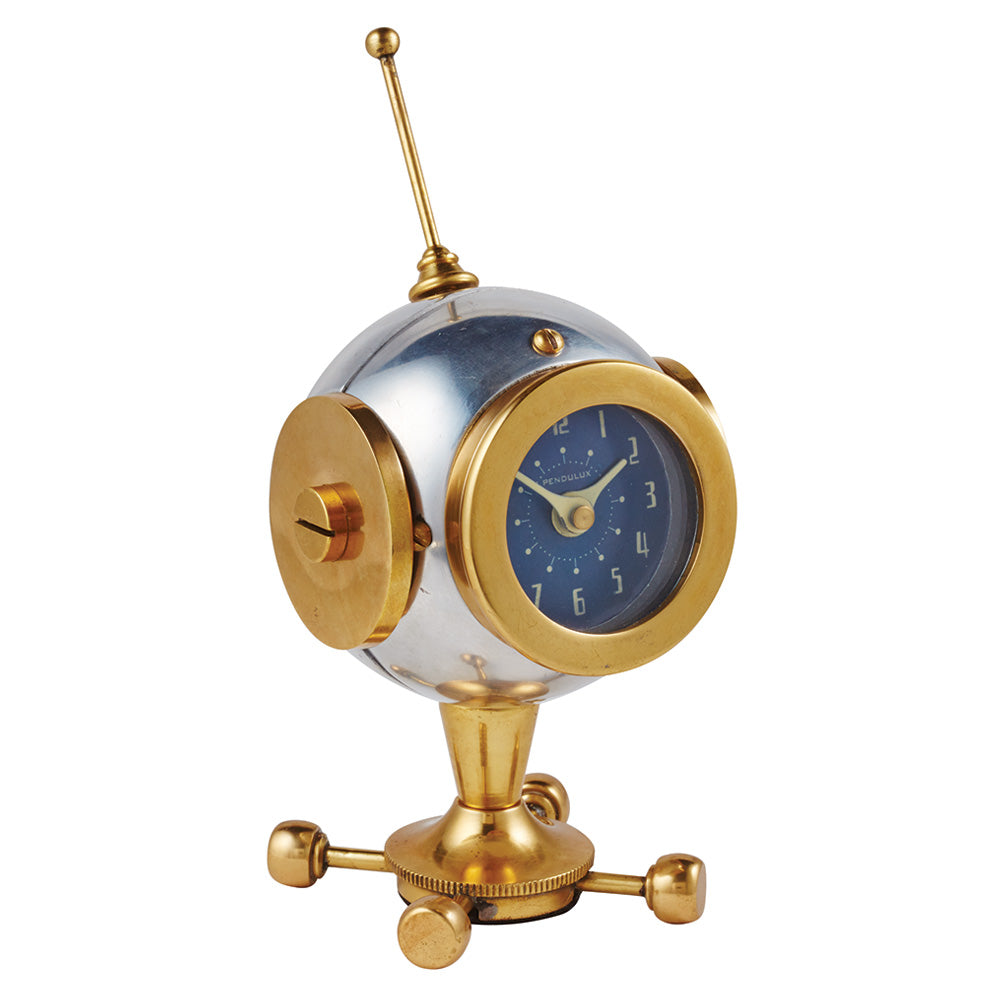 Retro Spaceman Table Clock - 8-in