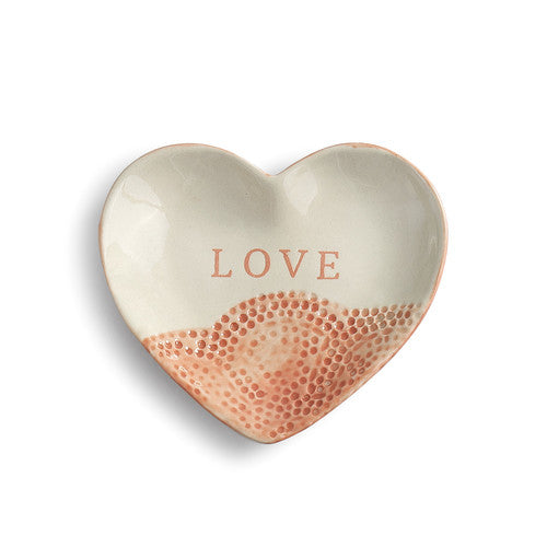 Love Treasure Keeper - Heart Shaped Trinket Dish