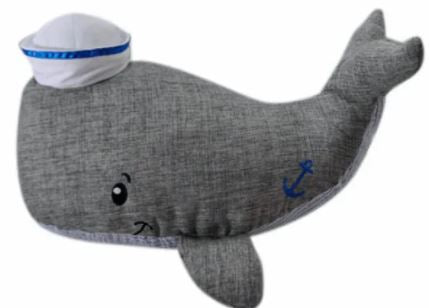 William The Whale - Plush Sea Life - 7-in