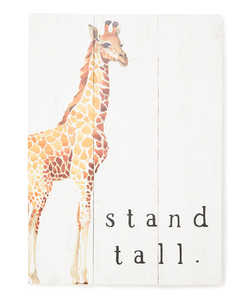Stand Tall - Wood Wall Decor 16-in