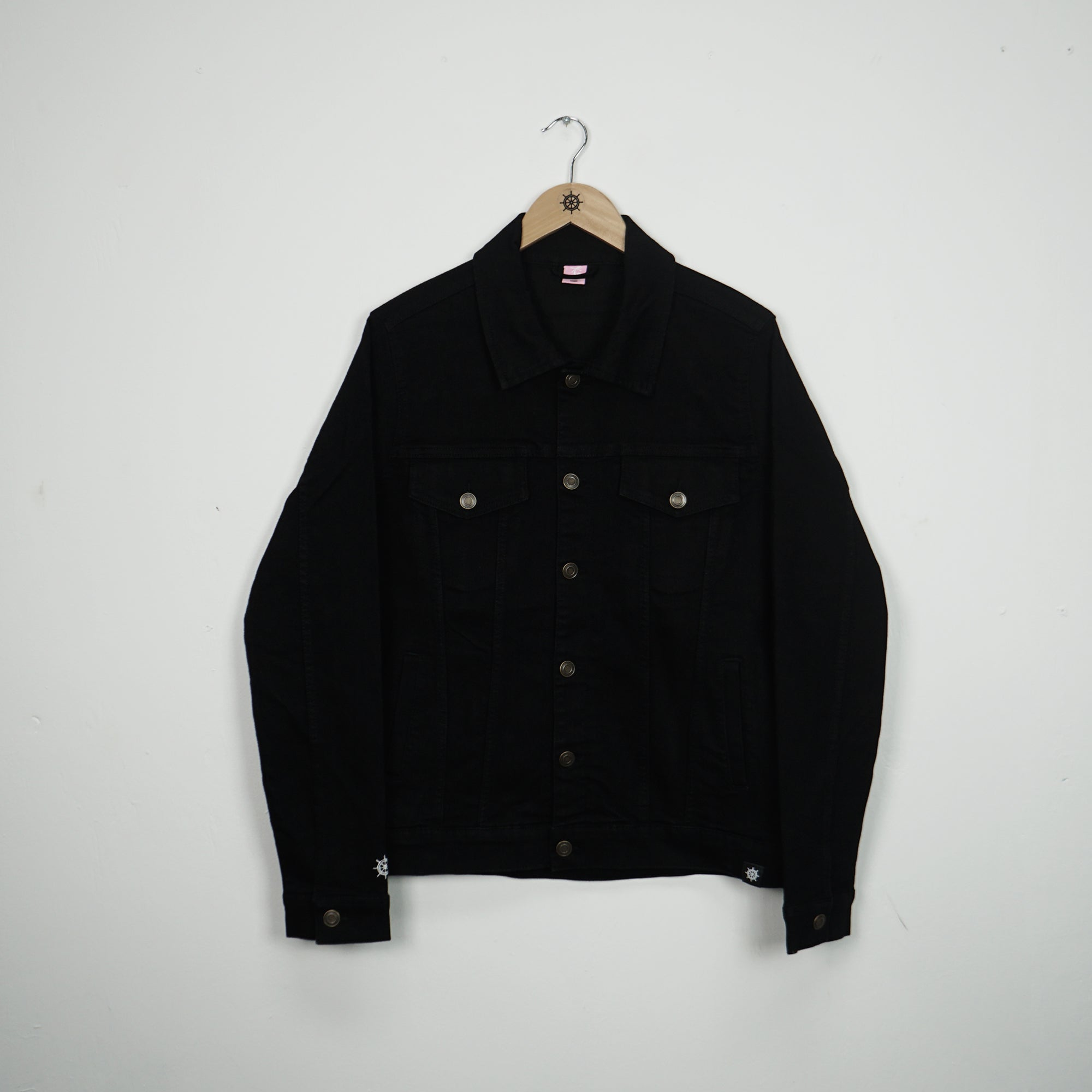 Black Essential Denim Jacket
