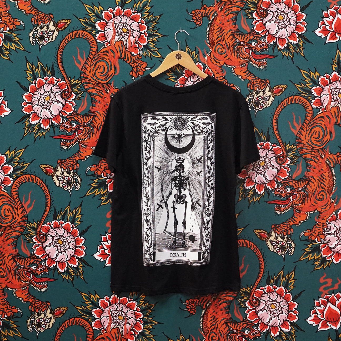 Death Tarot T-Shirt Black