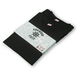 Black/Black Essential T-Shirt Twin Pack