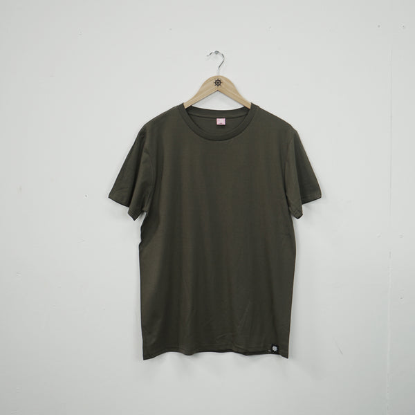 Natural/Khaki Essential T-Shirt Twin Pack