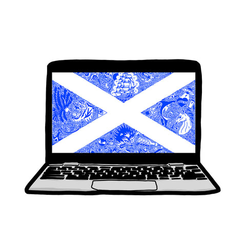 Digital Scotland Laptop Background