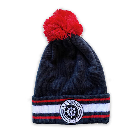 Abandon Ship Team Beanie Blue
