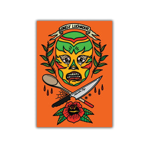 Digital Lonely Luchador Cook Book