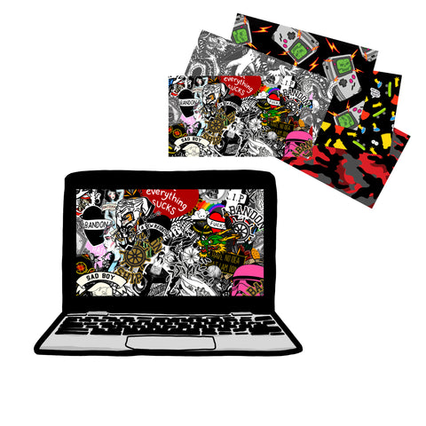 Digital Laptop Background Pack 1