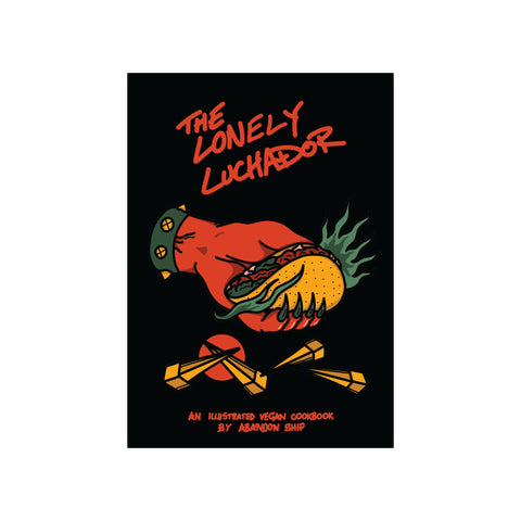 Paperback Lonely Luchador Cook Book