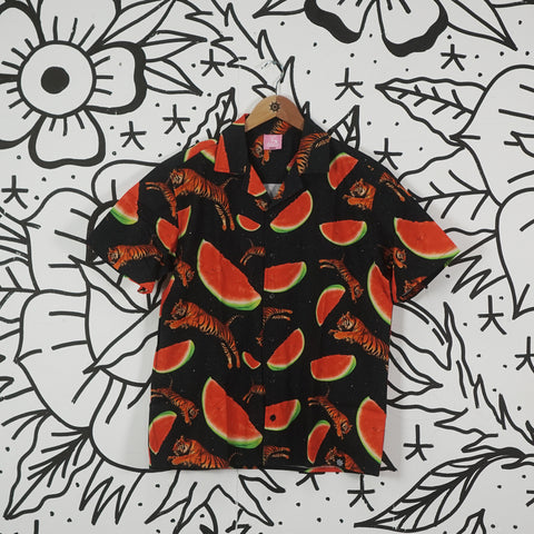 Tigers & Watermelons Hawaiian Shirt