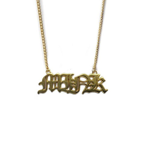 Mink Gold Necklace