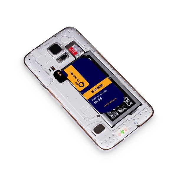 Qi Wireless Receiver Card for Samsung Galaxy S5 SV - Qi-Infinity