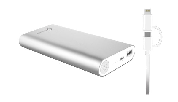 20,000 mAh Quick Charge Battery - Qi-Infinity