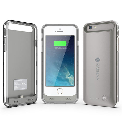 [Apple Certified] iPhone 6 Sleek Battery Charger Case