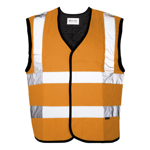 Evaporative Safety Cooling Vest - MAX - Orange